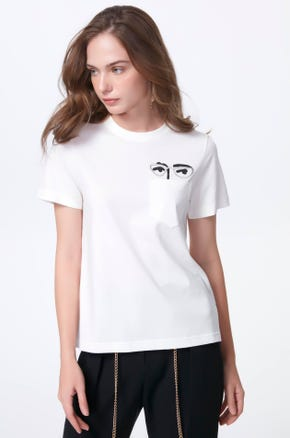 Four Eyes Pocket T-Shirt