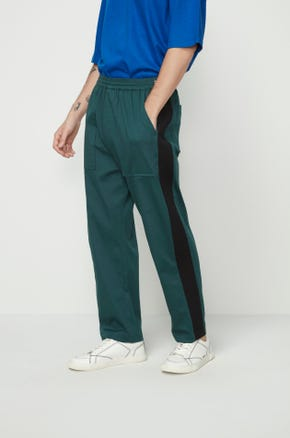 Green Drawstring Pants
