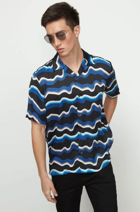 Blue Waves Resort Shirt