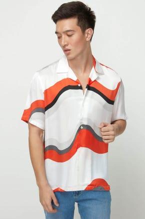 Orange Dream Resort Shirt