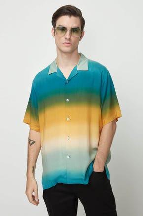 Green Ombre Resort Shirt
