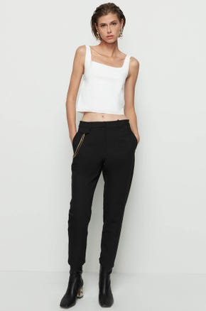 Side Chain Ankle Pants
