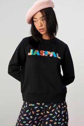Jaspal x Hattie Psychadelic Logo Sweatshirt
