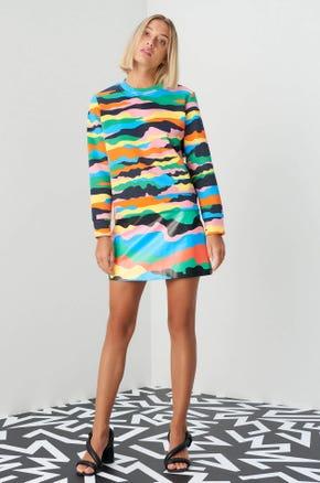 Jaspal x Hattie Color Camo Sweatshirt