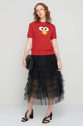 Elmo Short Sleeve Sweatshirt
