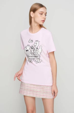 Pink Sesame Street T-Shirt