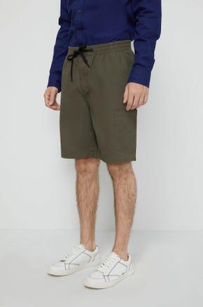 Linen Utility Shorts