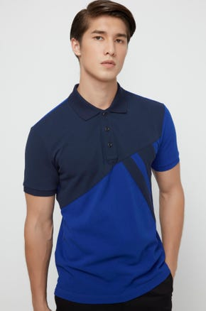 Graphic Colorblock Polo