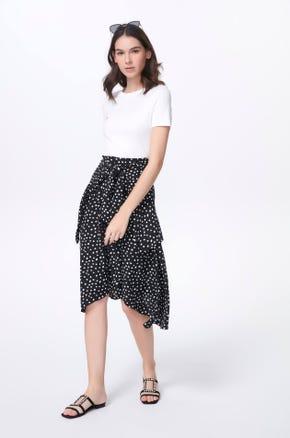 Polka Dot T-Shirt Dress