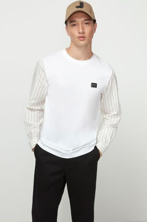 Long Sleeve Mixed T-Shirt
