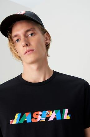 Jaspal x Hattie Psychadelic Logo T-Shirt