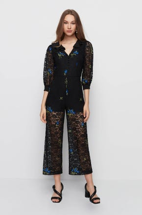Floral Lace Jumpsuit