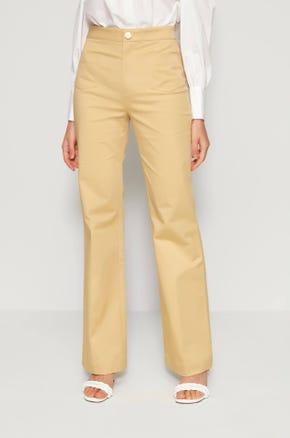 Patch Pocket Flare Pants