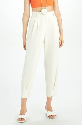 High Waisted Crop Pants