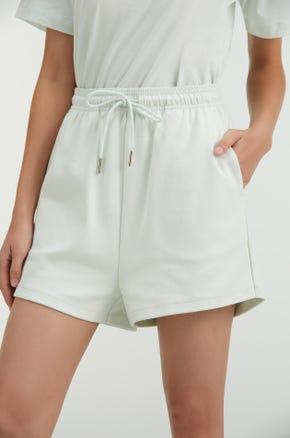 Pull On Drawstring Shorts