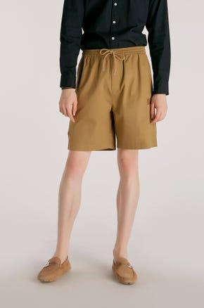 Patch Pocket Drawstring Shorts