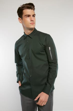 Sleeve Pocket Shirt