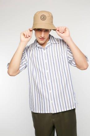 Striped Resort Collar Shirt