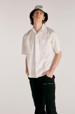 White Flap Pocket Resort Shirt
