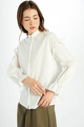 Pearl Cuff Shirt