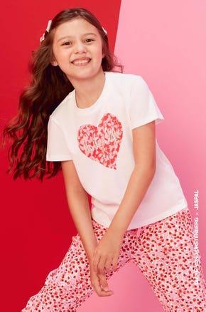 Heart Floral T-Shirt
