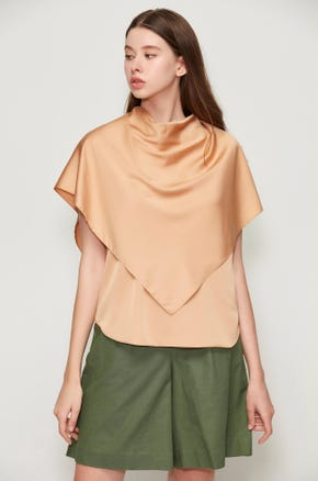 Cape Front Blouse