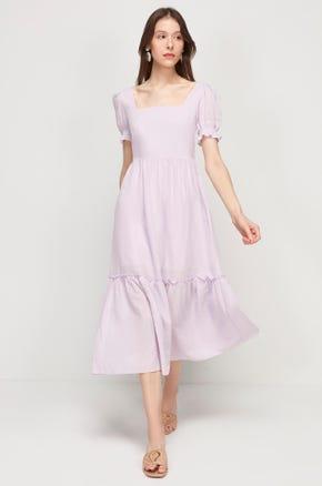 Ruffle Prairie Dress