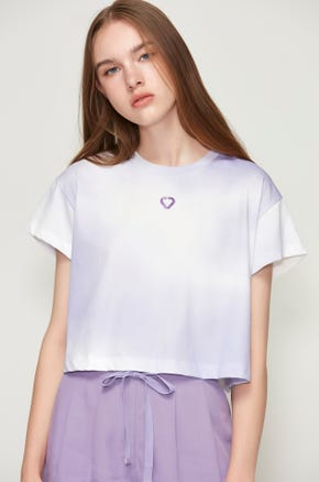 Ombre Heart T-Shirt