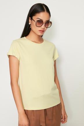Rolled Cuff T-Shirt