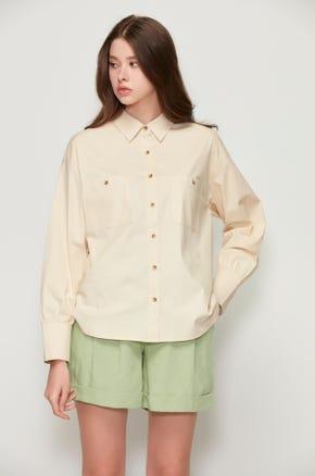 Split Hem Shirt