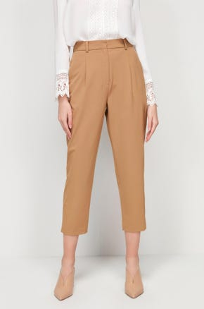 Cropped Cigarette Pants