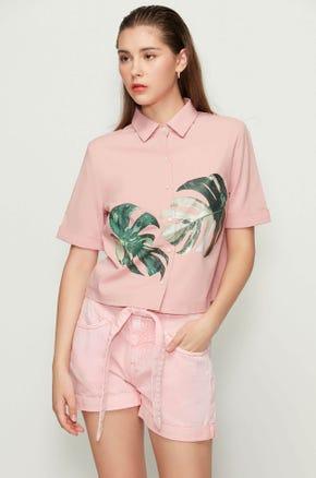 Palm Leaf Shirt