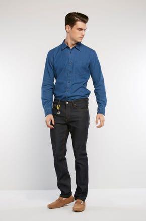 Raw Stretch Denim Jeans