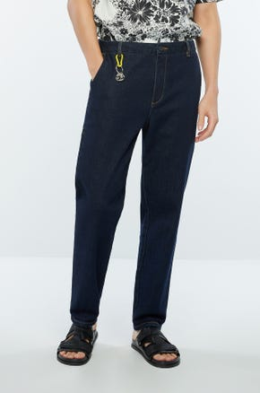 Slit Pocket Jeans