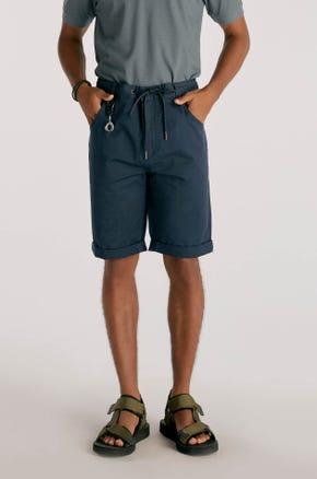 Knee Length Drawstring Shorts