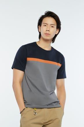 Orange Line T-Shirt