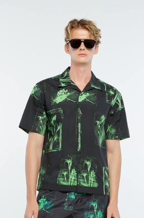 X-Ray Print Resort Shirt