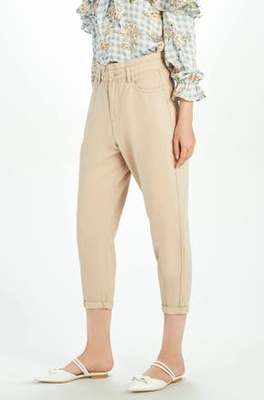 Colored Paperbag Jeans