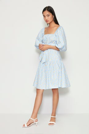 Daisy Tie Waist Dress