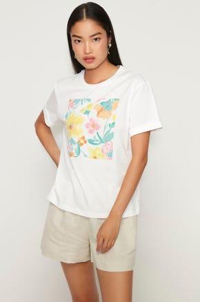 Embellished Floral T-Shirt