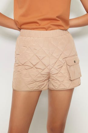 Quilted Shorts