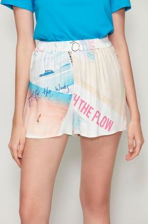 Photo Print Shorts