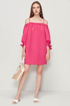 Off The Shoulder Mini Dress