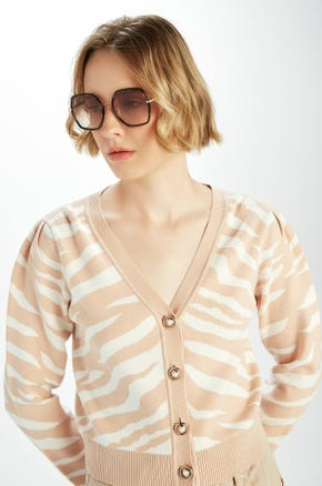 Tiger Stripe Cardigan