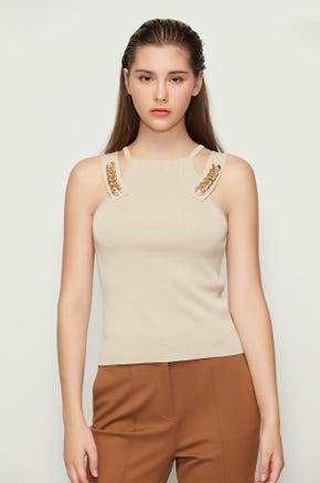 Gold Chain Tank Top