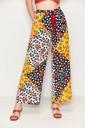Printed Drawstring Pants