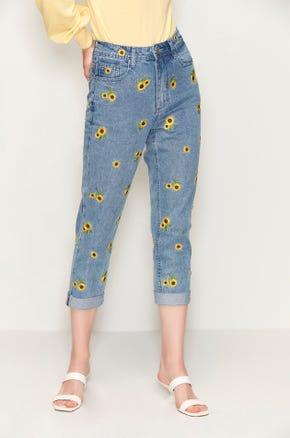 Sunflower Mom Jeans