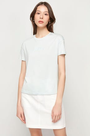 Pima Cotton T-Shirt - Mint