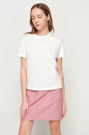 Pima Cotton T-Shirt - White