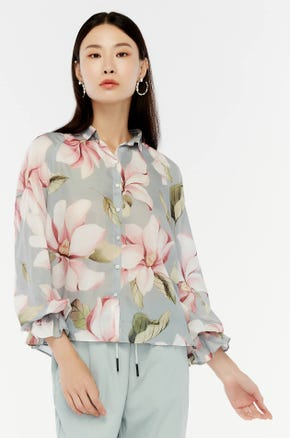 Tropical Floral Shirt